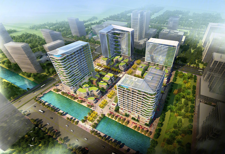 吴江区 太湖新城(吴江) 苏州绿地中心写字楼