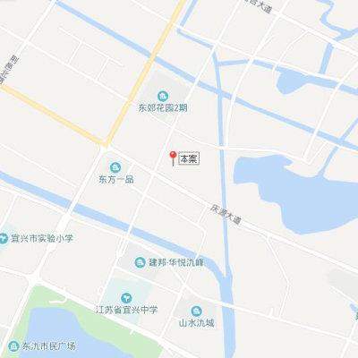 辰华氿府位置图