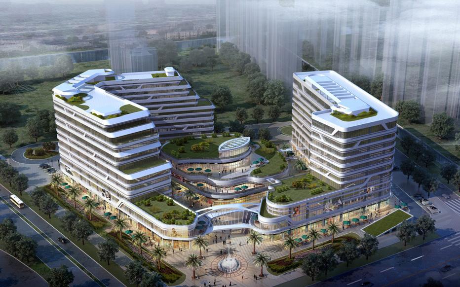 新区 枫桥 蓝天商务广场