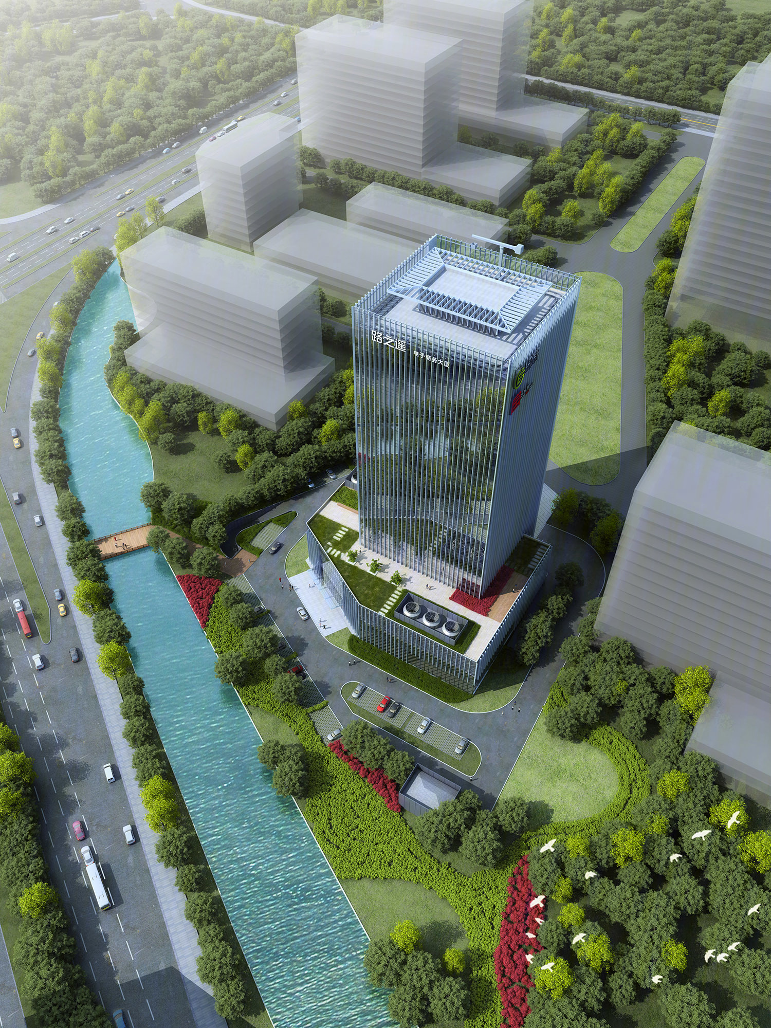 新区 科技城 雍荣大厦